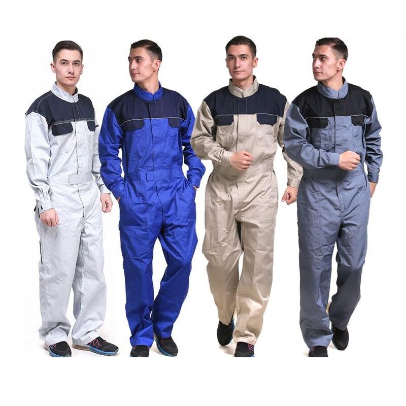 FASHION summer one piece car repair uniform dust free 4s service coat packing work wear uniform ...