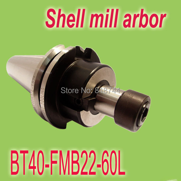 Free Shipping BT40 FMB22mm 60L Combi Shell Mill Holder for Milling Machine Work with Face Mill Cutter Head 300R/400R/EMR/TRS