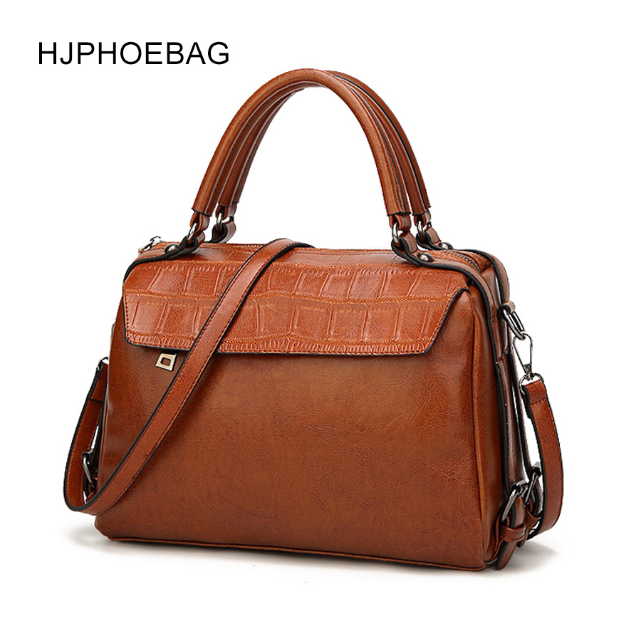 720f48f76b HJPHOEBAG Fashion women s bag PU leather handbag crocodile pattern high  quality zipper design crossbody bags for