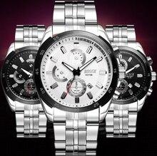 Bosck Luxury Brand Watches Men Fashion Sport Quartz Wrist Watch Mens Stainless Steel Waterproof Watches Male Clock 3108
