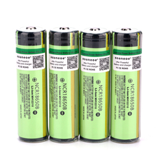 Original 3.7V 3400mAh 18650 Battery NCR18650B Rechargeable Battery Li-ion Batteries for Flashlight Torch стоимость