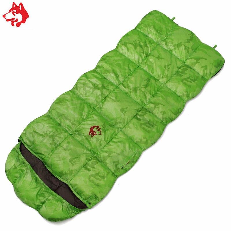 CY550 путешествия на открытом воздухе конверт спальный мешок зеленый/красный/синий Пеший Туризм походы кемпинг 1.4 кг утка вниз спальный мешок