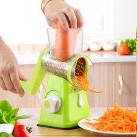 Multifunctional Round Mandoline Slicer Vegetable Fruit Potato Carrot Peeler Grater Turnip Cutter Slicer Melon Kitchen Gadget
