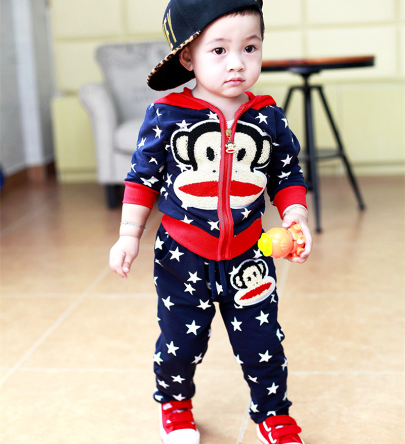 0 3 Years Old Baby Half Baby Boy And Baby Girl Clothes Monkey