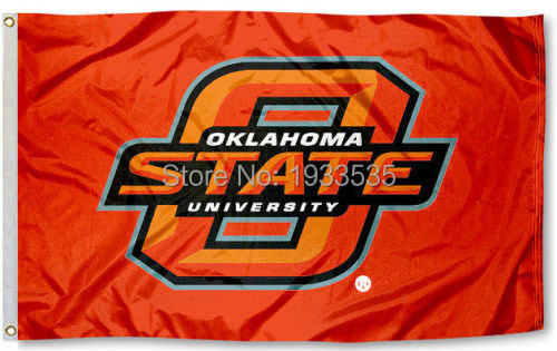 ok state cowboys flag osu orange large banner flag 3 x 5 banner brass