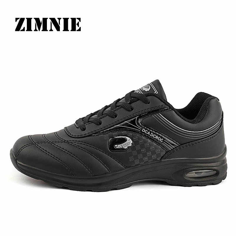 ZIMNIE New Men Running Shoes Run Athletic Trainers Man White Black Zapatillas Sports Shoe Max Cushion Outdoor Walking Sneakers