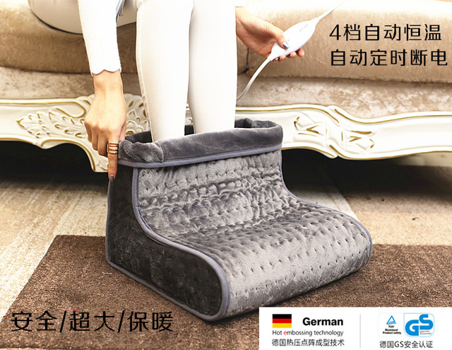 Feet Heater 4 Temperature 220v 240v Settings Can Be Wash Electric Foot Warmer Shoes