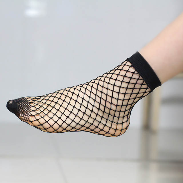 c5c5c3847 New summer hot style Fishnet socks short Women Sexy Sock Cool lady free szie