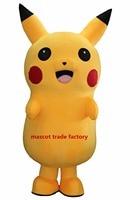 2016top grade deluxe pikachu mascotte kostuum cartoon kostuums mascotte kostuum fancy dress party pak