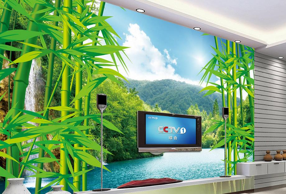 customize 3d luxury wallpaper Bamboo forest landscape 3d wall paper photo murals bedroom wallpaper papel pintado moderno Обои