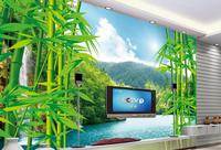 customize 3d luxury wallpaper Bamboo forest landscape 3d wall paper photo murals bedroom wallpaper papel pintado moderno