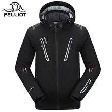 Pelliot Лыжная куртка мужская водонепроницаемая, дышащая термальная куртка для сноуборда! Гарантия подлинности
