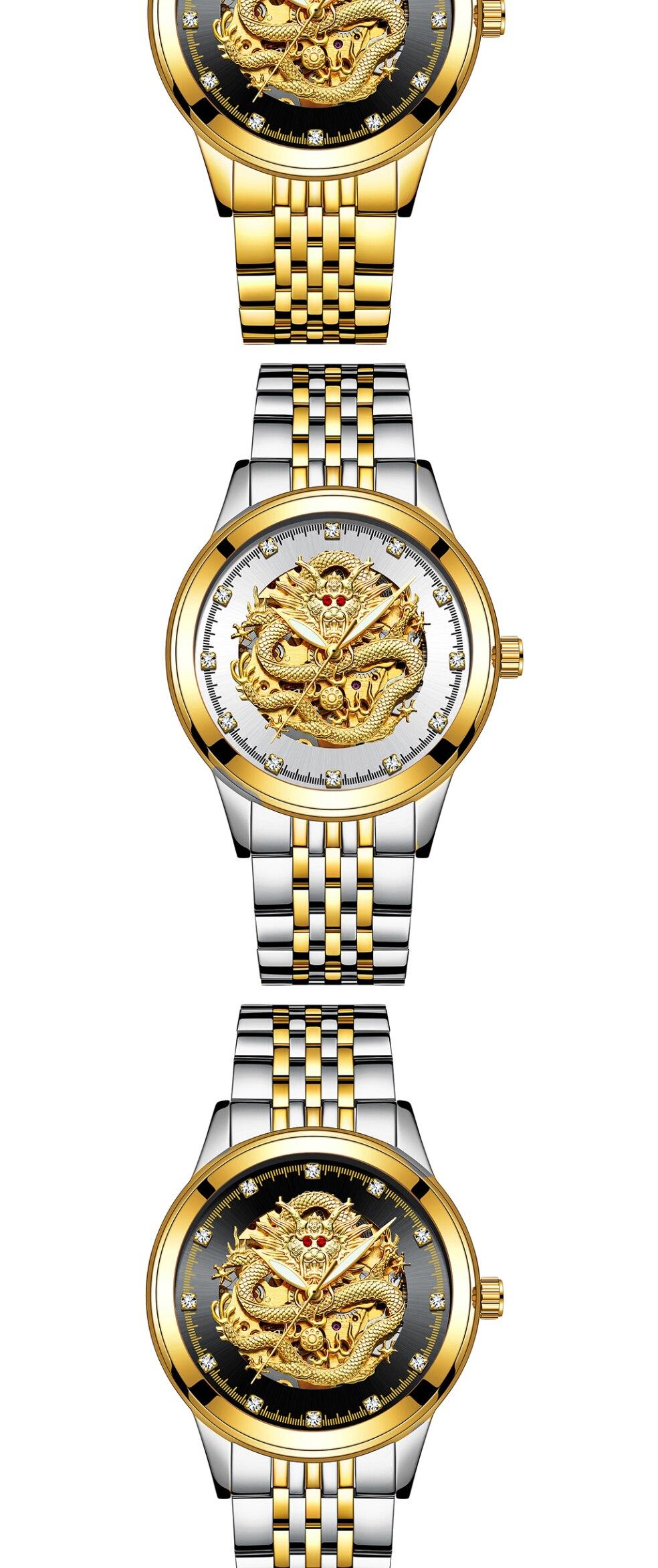 HTB1kUZYXoLrK1Rjy0Fjq6zYXFXat TEVISE Men Mechanical Watch Luxurious Automatic Winding Watches Waterproof Skeleton Hollow Gold Dragon Clock Relogio Masculino