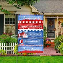 Personalized Garden Flag Double-Sided Polyester  Decor Hanging Yard 12X18