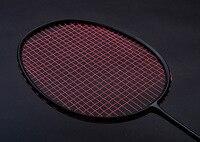 2017 Hot Sale Weight Increasing Training Badminton Racket 120g 150g 180g Full Carbon Single Racket