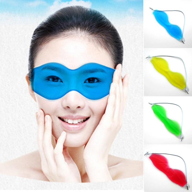 Ice Bags Women Men Dark Circles Removal Eye Fatigue Relieve Eye Gel Ice Packs Convenient Practical Eye Ice Packs #0213