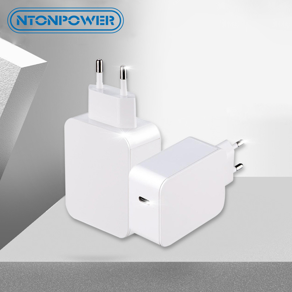 NTONPOWER PD Charger QC3.0 + Fast Charge 36W Travel Charging Plug Type-C for iPhone xiaomi Huawei Samsung Macbook Power Adapt