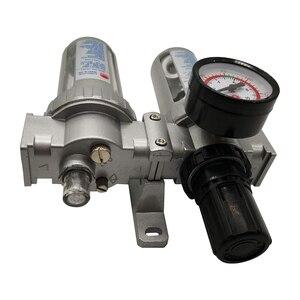 Image 3 - SFC 400 SFC 300 SFC 200 ضاغط الهواء فلتر الهواء منظم فاصل مياه زيتية فخ تصفية منظم صمام استنزاف التلقائي