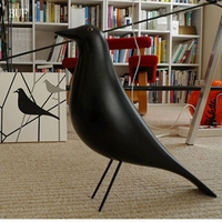 BUF Resin Craft Bird Figurine Statue Office Ornaments Sculpture Home Decoration Accessories Bird Sculpture