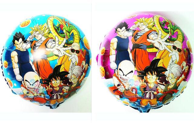10pcs classic toys Anime dragon ball Z balloons Son Goku battle