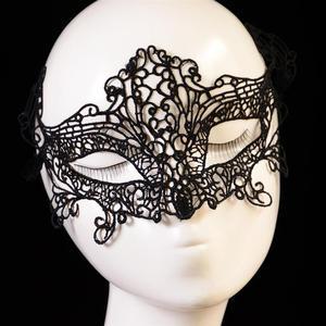 Image 4 - 1 шт. Черная Женская Сексуальная кружевная маска для глаз маски для вечеринки для маскарада Хэллоуина венецианские костюмы Карнавальная маска для анонимного Марди