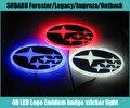 1 шт. Автомобилей Водонепроницаемый 4D LED EL Холодный свет знак логотипа Эмблема Лампа для SUBARU Forester/Наследие/Impreza/Outback/Tribeca/XV