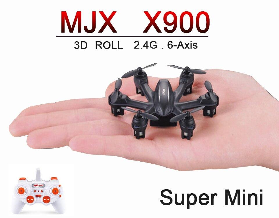 Mjx X900 / M901 Mini Quadcopter 2.4 GHz 4CH 6-Axis RC helicóptero con la lintern