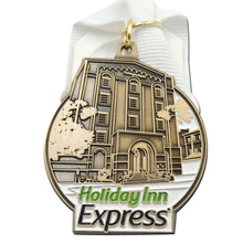 OEM Medals with Customized Logo Chinese Factory low price custom metal medals ribbons