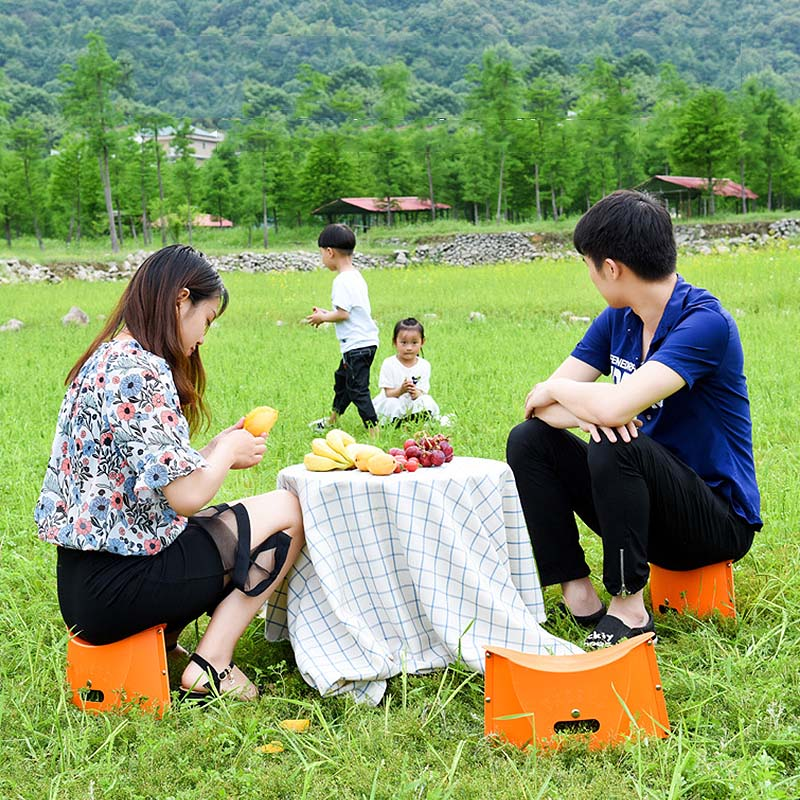 Portable Folding Stool PP Chair Seat Ultralight Fishing Outdoor Beach Chairs Camping Hiking For Kids Adults Outdoor Furniture