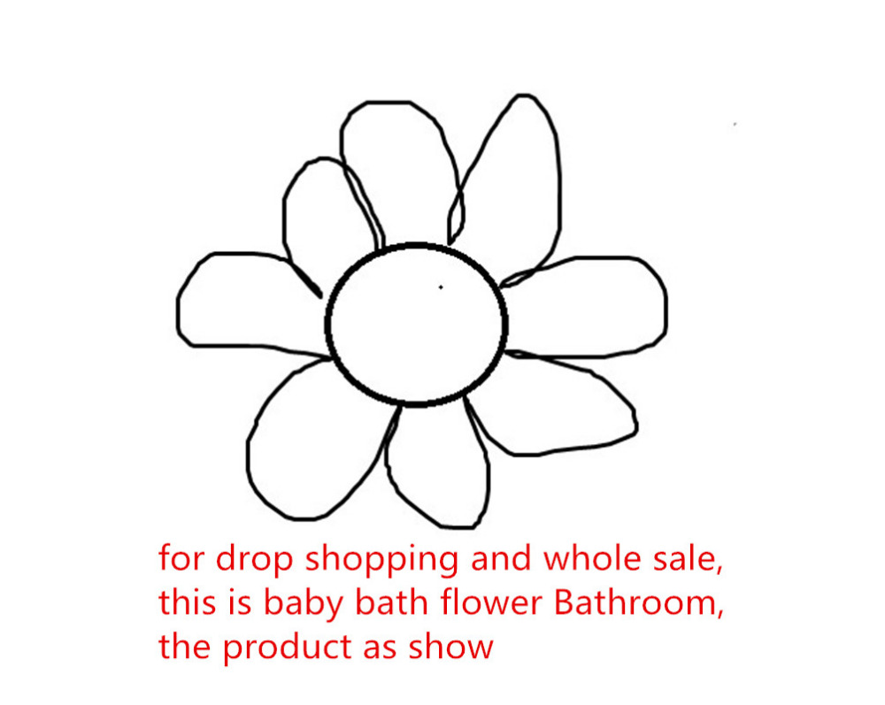 shower seat blooming bath flower bath tub for baby bathroom newborn blooming sink bath for baby. Black Bedroom Furniture Sets. Home Design Ideas
