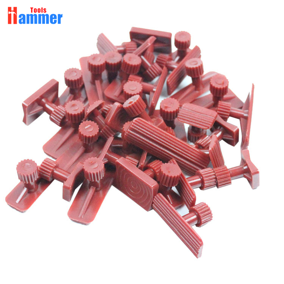 red Glue Tabs Tools Kit For Car Paintless Dent Repair Tool Auto dent repair tools For Dent Lifter PDR KING Puller Tabs