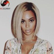 8A brazilian virgin hair Beyonce ombre human hair Bob wig #1bT613 best human hair wigs full lace human hair wigs for black women