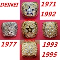 1971 1977 1992 1993 1995 all Dallas Cowboys Super Bowl replic championship rings US Size 8-13 on sale