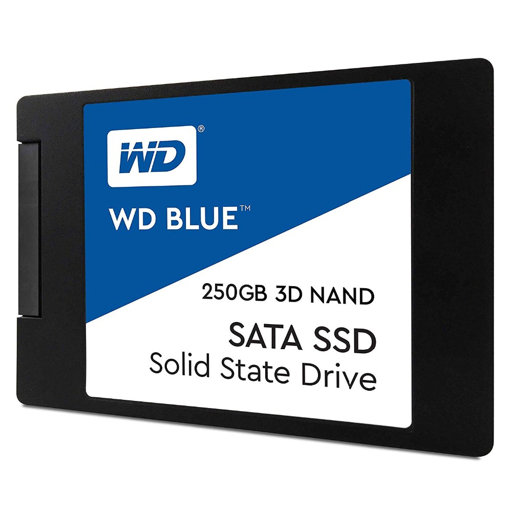 WESTERN DIGITAL 250GB BLUE 3D NAND <font><b>SSD</b></font> Internal SATA3 <font><b>2.5</b></font>
