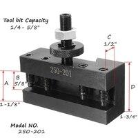 שינוי מהיר 10-15Inch BXA מהיר שינוי מחרטה CNC כלי פוסט # 1 מפנה מול מחזיק # 250-201 מחזיק עבור כלי מחרטות (5)