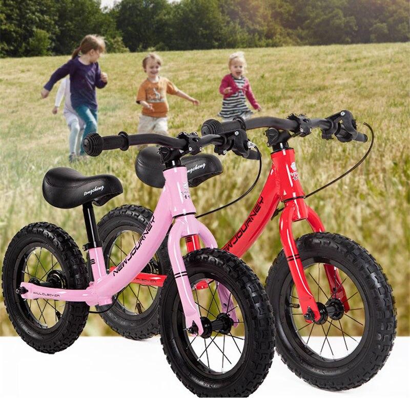 Poussettes vélos enfant Balance Buggy coulissant jouet vélo bébé enfant marcheur vélo pour 2-6 ans enfants pédale-moins 12 pouces vélo enfant - 4
