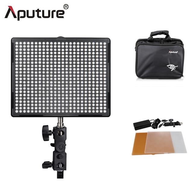 aputure cri95h528s led video light light panel dimmable 3200k5500k photo video studio