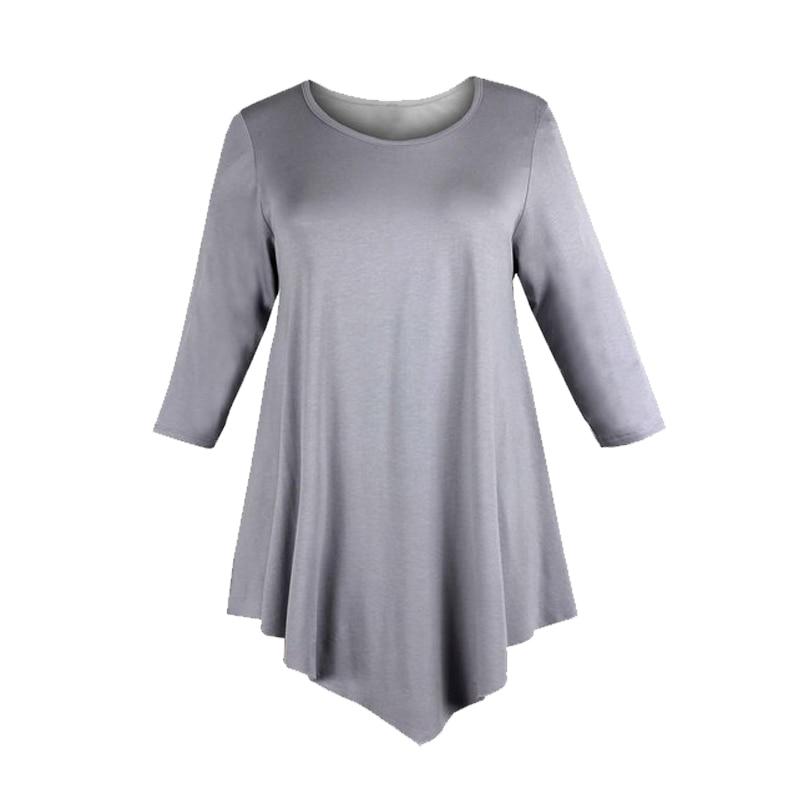 Belva 2016 Mutterschaft Tops Plus Size Mutterschaftsbekleidung Dreiviertel-Länge Ärmel Mutterschaft T-Shirt Kleid Schwangere Kleidung 94