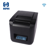 80MM Wifi Thermal Receipt Printer ZJ8220 Support Serial USB Ethernet With Cutter For Restaurant And KTV