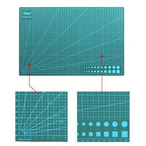 Image 4 - A3 PVC kendinden şifa kesme Mat kumaş deri kağıt zanaat DIY araçları çift taraflı şifa kesme tahtası