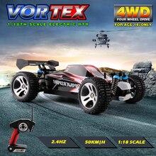 WLtoys A959 2.4G Elektryczne Rc Cars 50 Km/H 4WD Wał Napędowy ciężarówki High Speed Radio Control Rc Monster truck, Super Power Gotowy zabawki