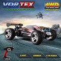 WLtoys A959 2.4G Rc Coches Eléctricos 50 Km/H 4WD Eje de Transmisión camiones de Alta Velocidad del Control de Radio Rc Del carro de Monstruo, Super Power Ready juguetes