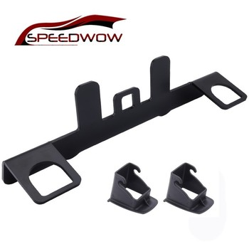 SPEEDWOW Car ISOFIX Latch Connector Child Safety Seat Interface Car Baby Child Safety Seat Belts Holder Seat Belt Buckle Bracket newborn baby safe car seats car general 0 12 years old child baby isofix hard interface can lie car seat