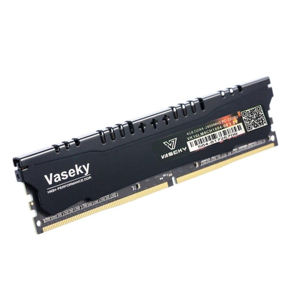 Économie d'énergie ordinateur de bureau de mémoire DDR4 4G 2400 MHZ Module de Mémoire de L'ordinateur 288Pin