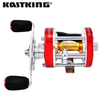 KastKing 2016 New RXA40 Left Hand Metal Body Cast Drum Wheel Super Light 300g Big Game