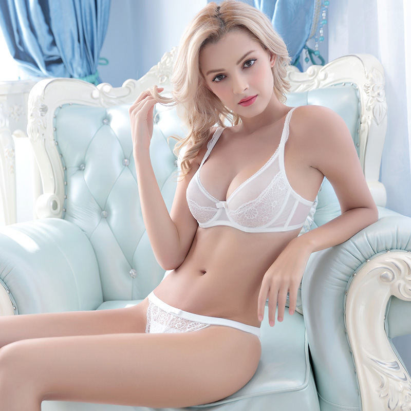 Very Sexy Unlind Nicked Lace Bra Set For Women Transparent Bras Lingerie Underwear Cute Plus Size Bra And Panties For Lady In Bra Brief Sets From