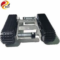 Official DOIT Mini TP100 Crawler Robot Tank Car Chassis Smart Car Competition Design Arduino