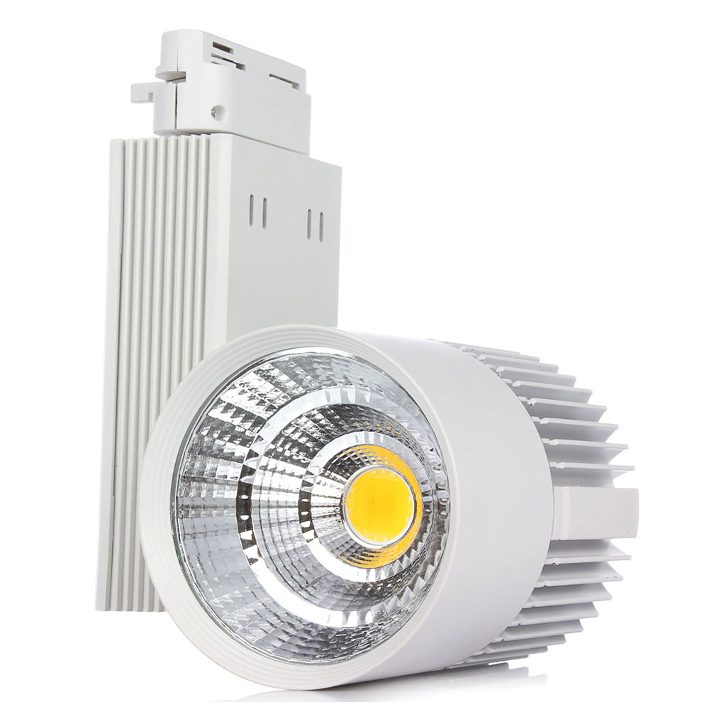 30w Led Track Lighting Fixtures: 1pcs Hot Sale!!! COB Led Track Light 30W AC85 265V Led