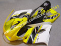 Hot Sales,Yellow black white Motorcycle parts For Yamaha YZF1000R Thunderace YZF-1000R 1997~2007 YZF 1000 R 97~07 body Fairing