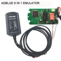 Adblue를 에뮬레이션 상자 9 1 전체 칩 Ad 블루 9in1 남자 IVECO 볼보 포드 또는 트럭 및 버스 필요 소프트웨